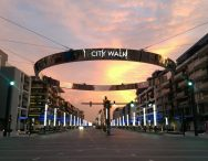 Street Light Poles and LED Rings Installation at Citywalk – Dubai (United Arab Emirates)